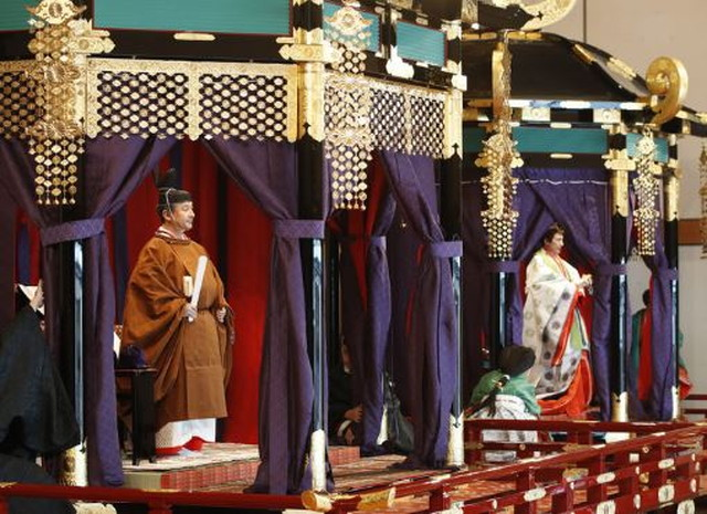 海外の反応 即位礼正殿の儀