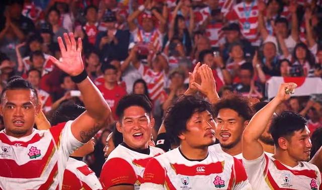 ラグビー 日本 代表 世界 の 反応